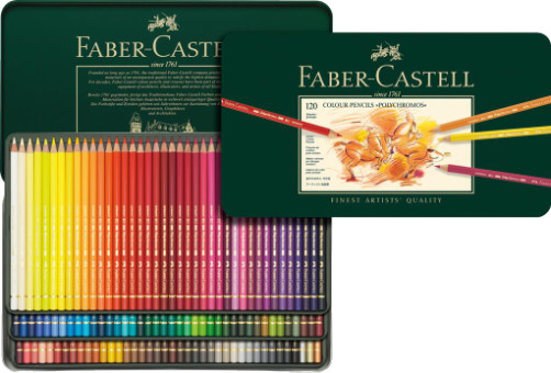 Faber Castell Polychromos Colour Pencils Tin 120