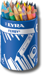 Lyra Ferby Cup of 36 - Coloured Barrel