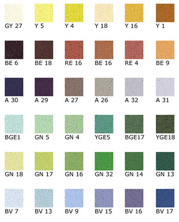 Unison Pastels Set of 36 Landscape Colours