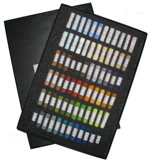 Unison Colour Hand Made Soft Pastels - Landscape Set 72