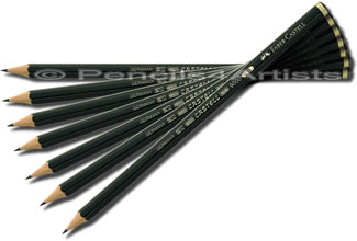 Faber Castell 9000 Black Lead Pencil