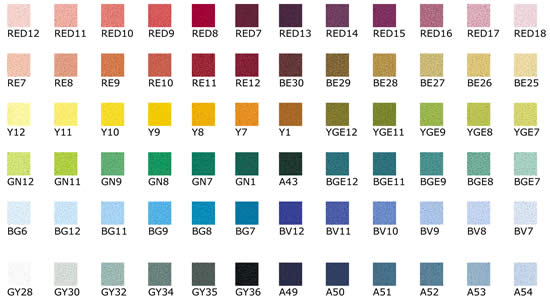 Unison Pastels Set of 72 Starter Colours