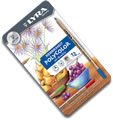 Lyra Rembrandt Polycolor Pencils Tin of 12