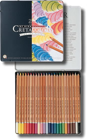 Cretacolor Pastel Pencils Tin of 24