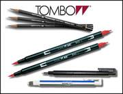 Tombow Artists Pencils & Brush Pens