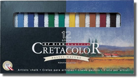 Cretacolor Pastel Carres Set of 12 Landscape