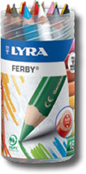 Lyra Ferby Tub of 18 - laquered barrel