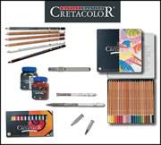 Cretacolor Artists Pencils & Pastels