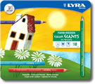 Lyra Color Giants Tin of 18 - Coloured Barrel