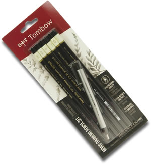 Tombow Mono Drawing Pencil Set