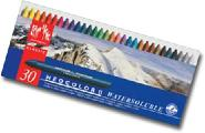 Caran D'ache Neocolor II Watersoluble Wax Pastels Tin of 30