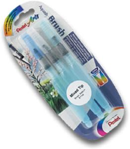 Pentel Artists' Water Brush - Trio Pack
